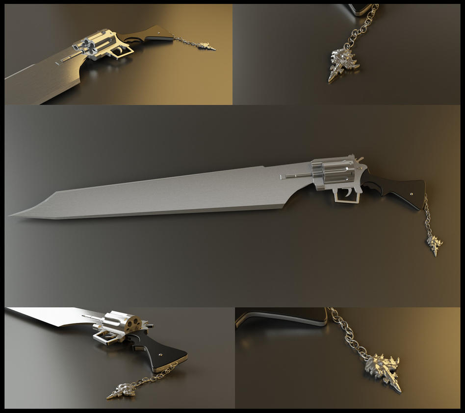 Squall Leonhart Gunblade 2 by Akiratang
