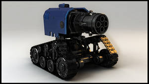 Thunder Fire Cannon Warhammer 40k by Akiratang