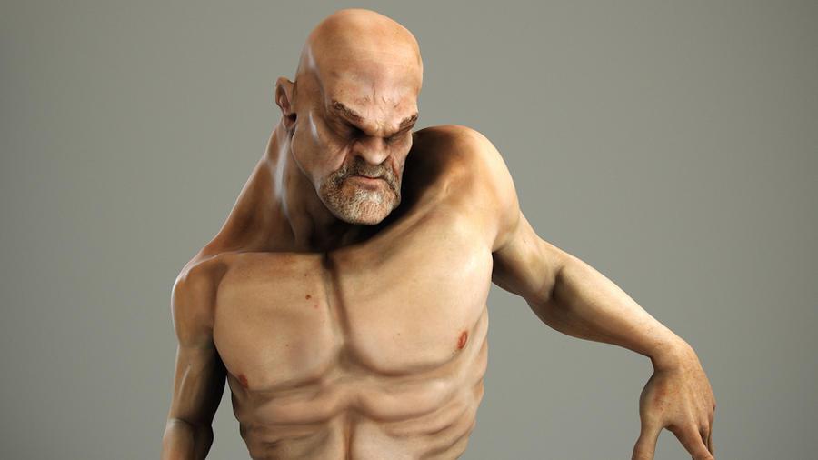 deformed face man - 900×506