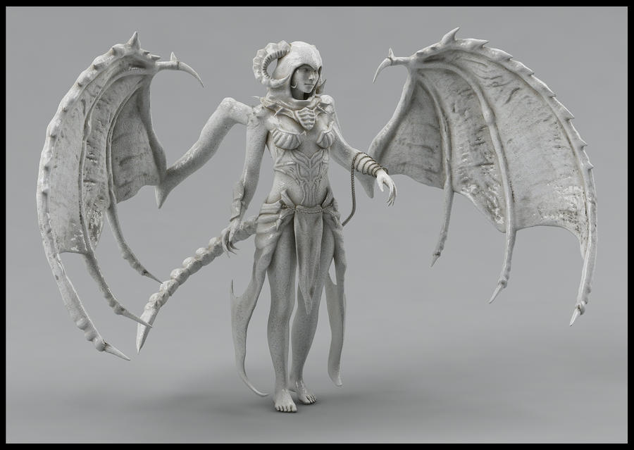 Sorceress Sculpt 2 by Akiratang