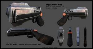 Diffusion SWI - Gun Render 3D