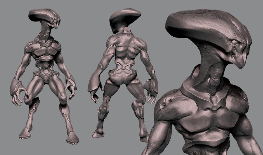 Alien by Akiratang
