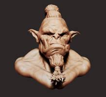 Orc Head Sculpt