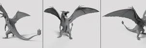 Charizard Sculpt