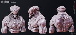 Mech Guy Sculpt by Akiratang