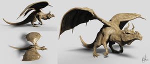 Dragon Zbrush Sculpt - Elder Dragon