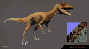 Allosaurus Render 3D 2