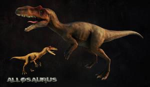 Allosaurus Beauty Render 3D