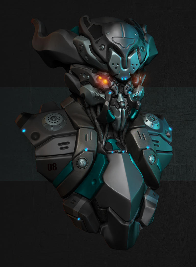 Mech Guy 2 by Akiratang