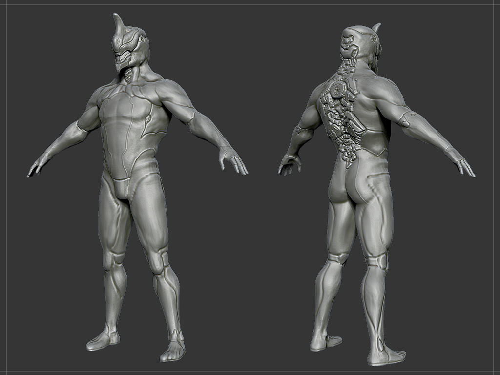 Warframe Excalibur WIP 1 by Akiratang