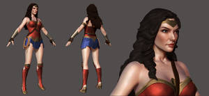 Wonder Woman Wip 1 by Akiratang