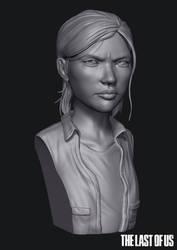 Ellie - The Last of Us (Speed Sculpt)