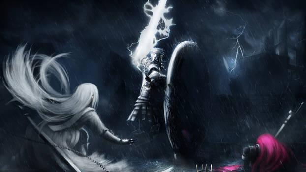 Aurora and Norah in Dark Souls