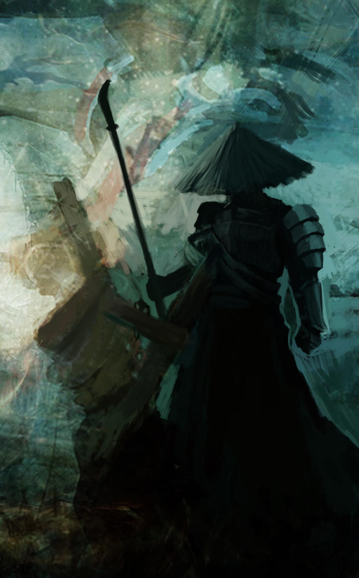 Samurai wip1 by xardax2000