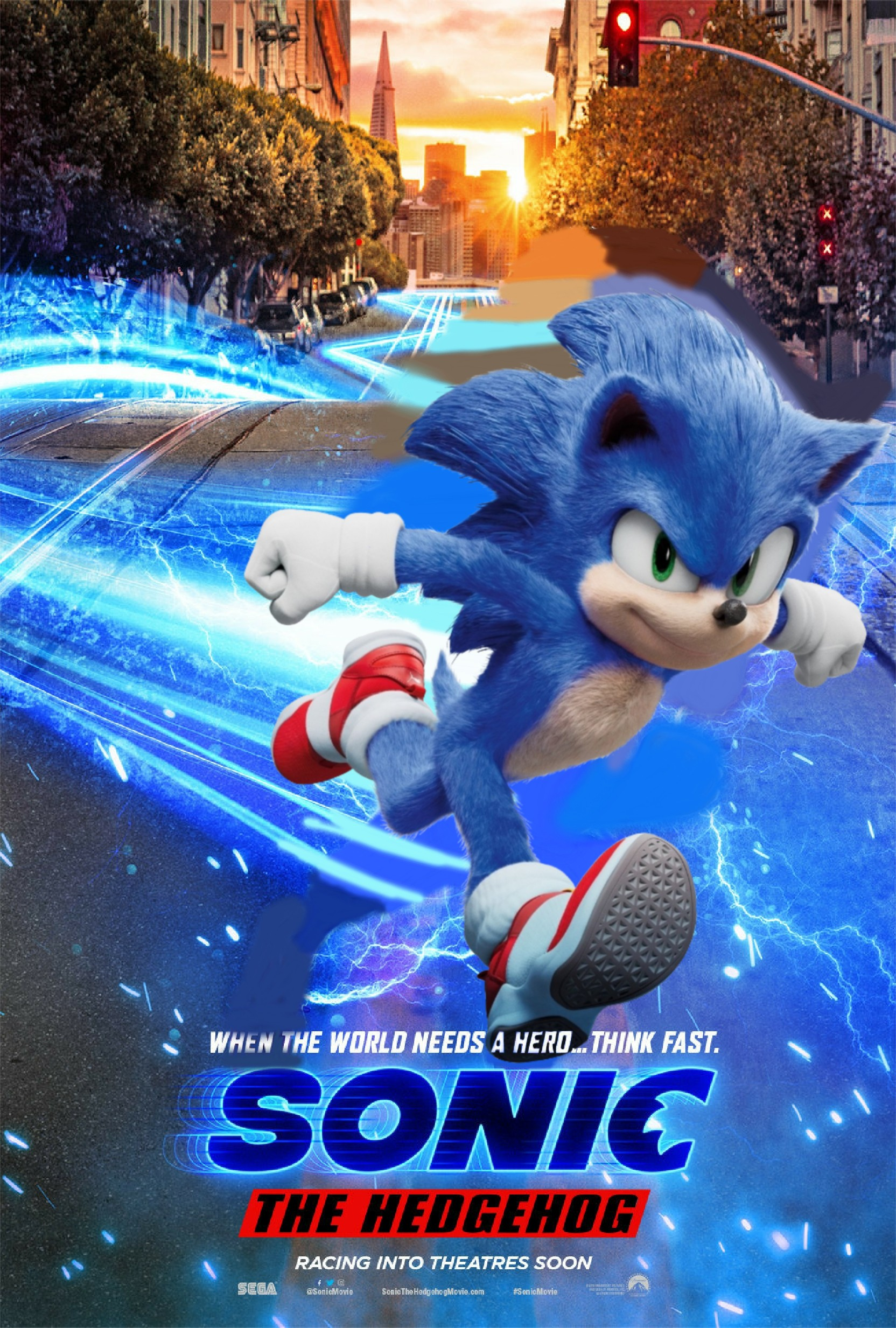 Sonic 2019 Poster With 2020 Ver 3 By Abealy2 On Deviantart