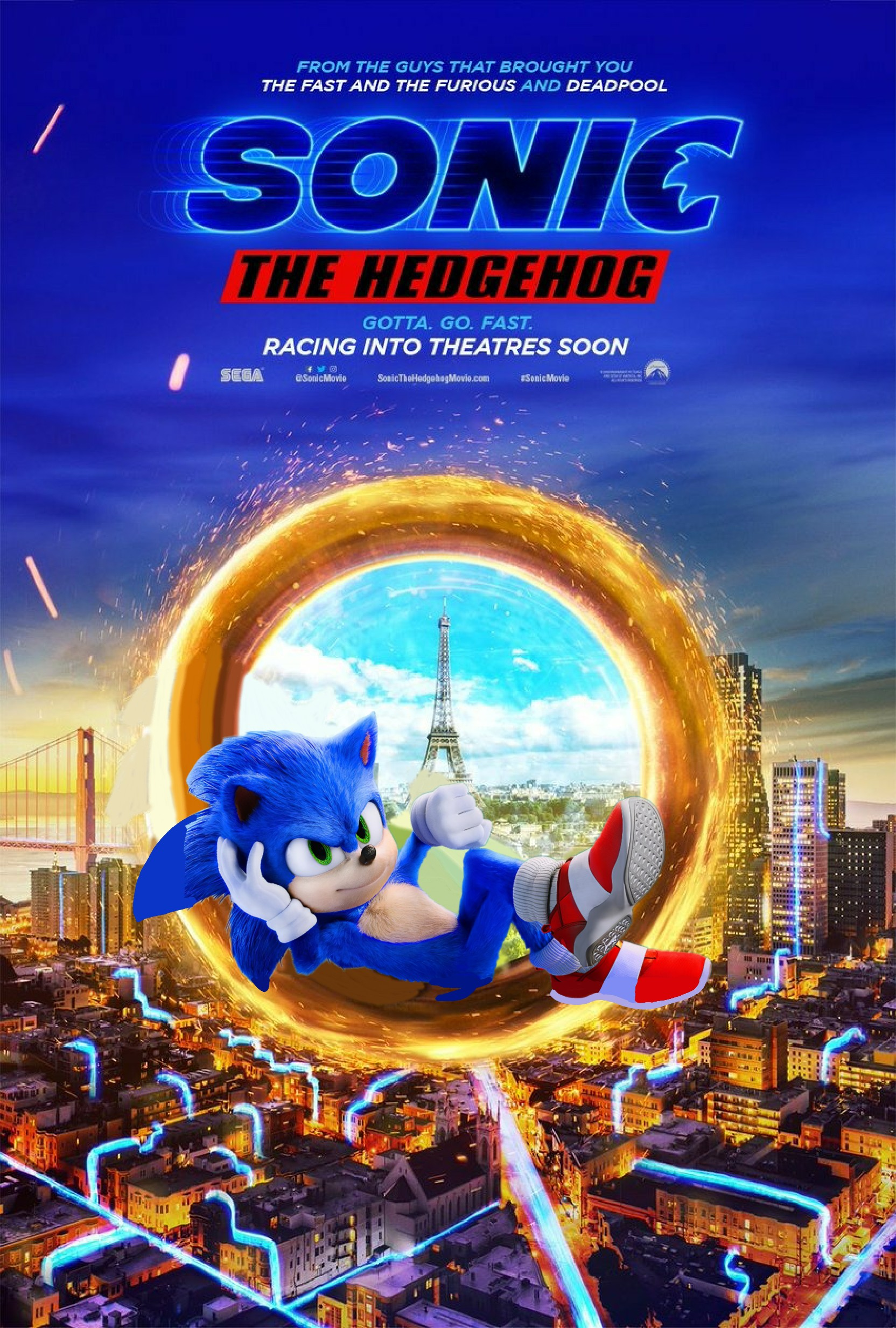 Sonic 2019 Poster With 2020 Ver 2 By Abealy2 On Deviantart