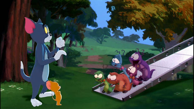 Tom and Jerry meet Nurdlucks