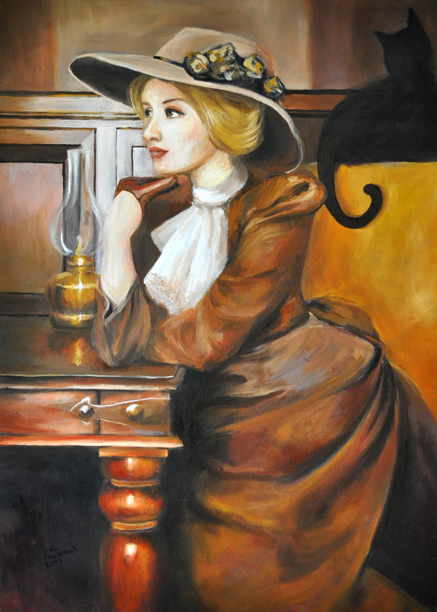 Victorian Lady by lidia-art