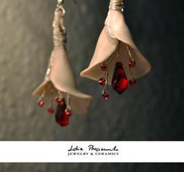 White royal flower bells