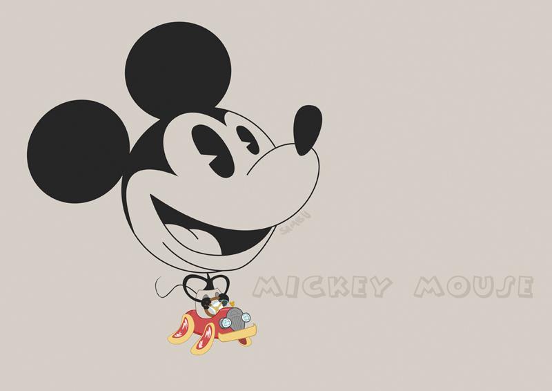 Mickey Mouse by sambu