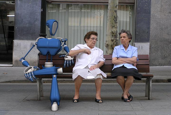 Esperando el Bus by sambu