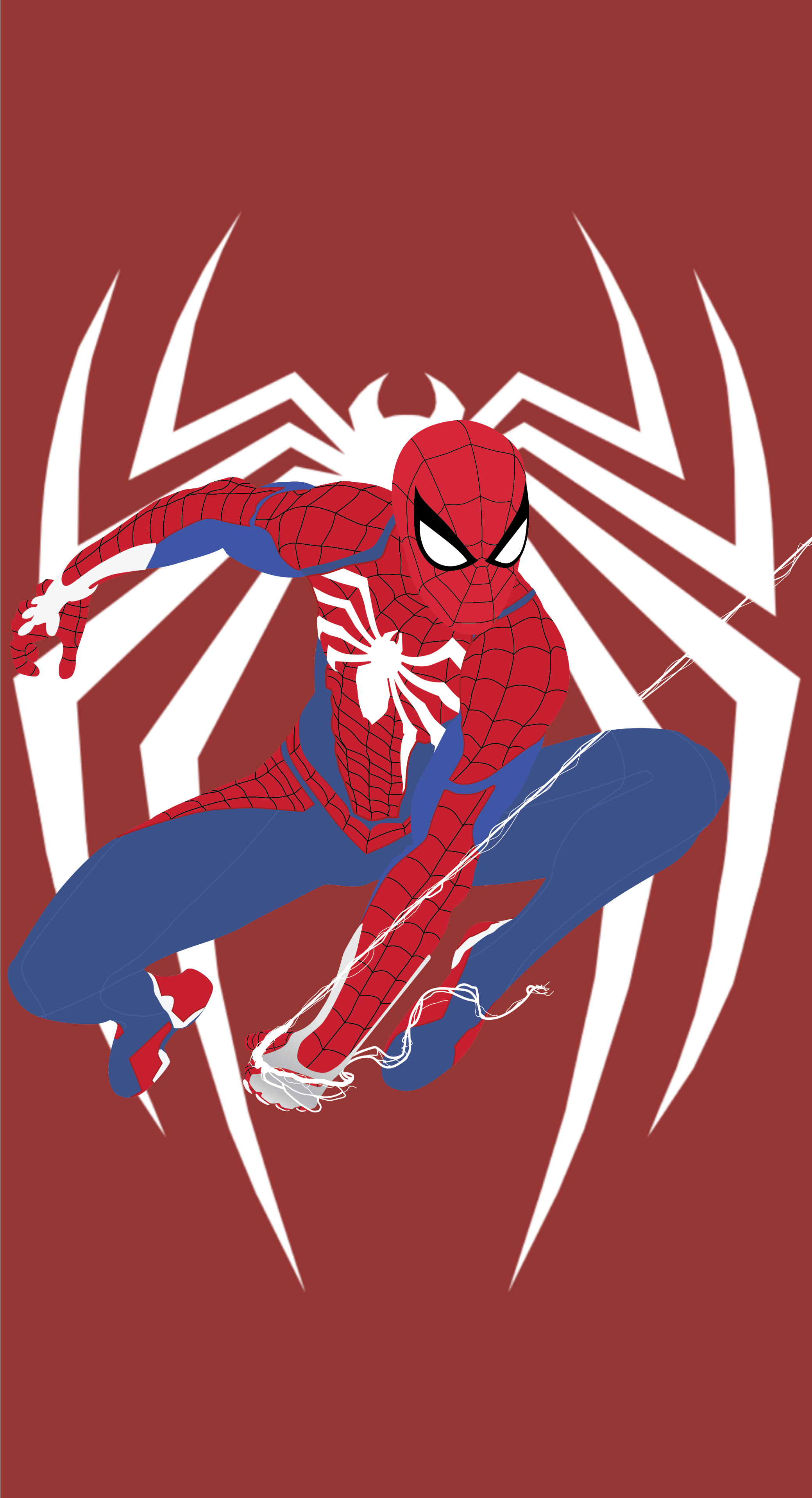 Spider Man Ps4 Custom Made Mobile Wallpaper By Crillyboy25 On