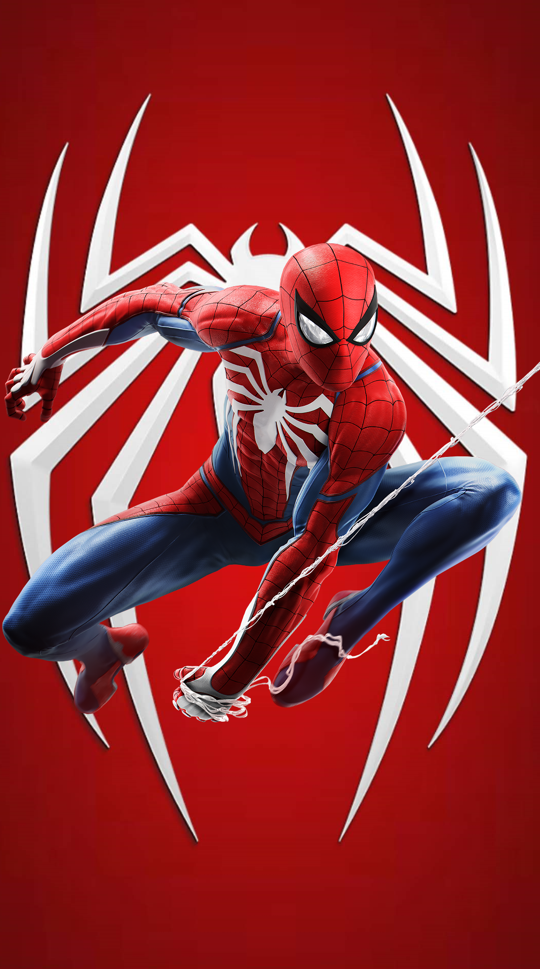 Spider Man Ps4 Mobile Wallpaper 1 By Crillyboy25 On Deviantart
