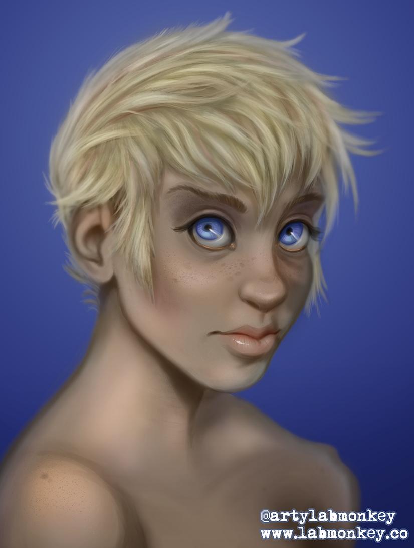 Jude Portrait by laboratorymonkey