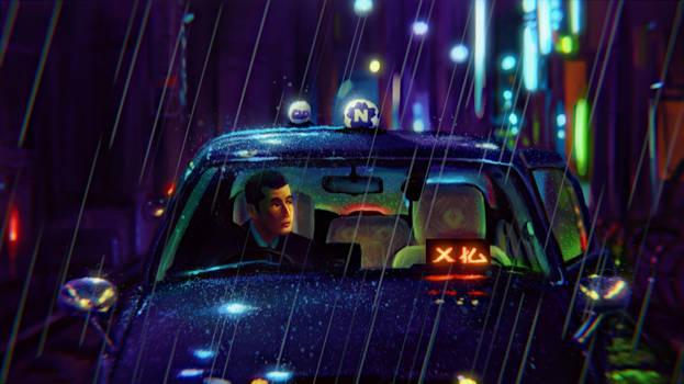 Rainy Shinjuku Nights