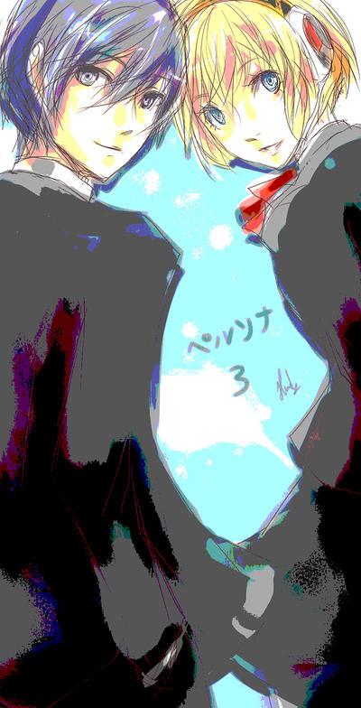 minato aigis by melrw22