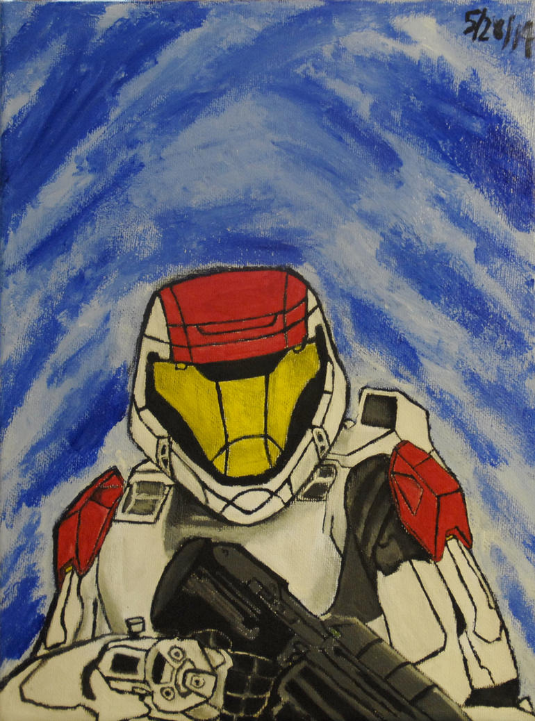 Halo spartan odst painting by morshu76