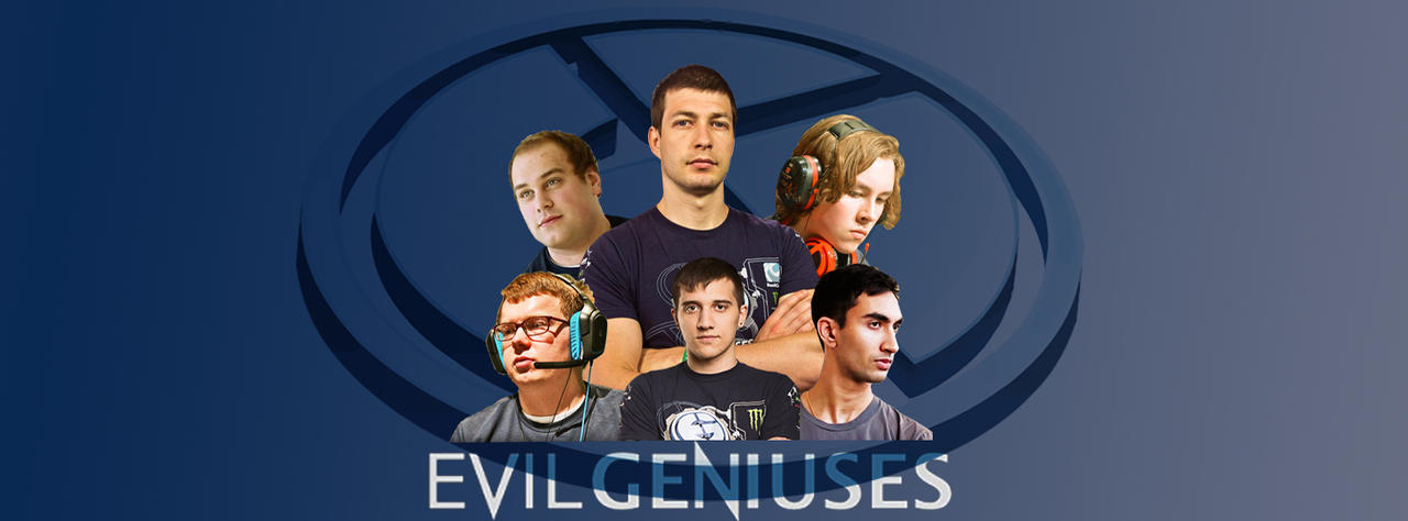 Evil Geniuses Facebook Cover by shady767