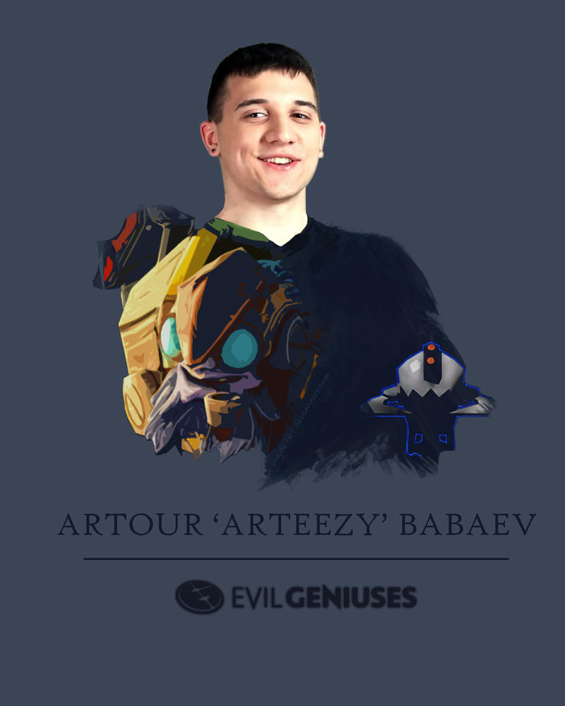 Arteezy-Tinker Poster by shady767