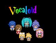 Vocaloid chibi sprites by SamiiX9