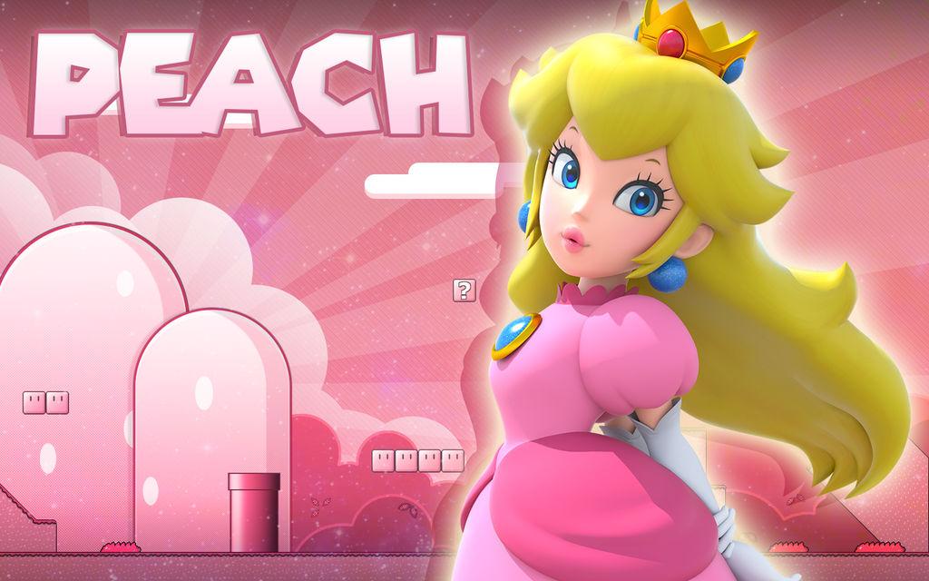 Princess Peach Wallpaper by TheBlazyPics on DeviantArt