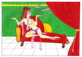 La satyre by ruennadreamer