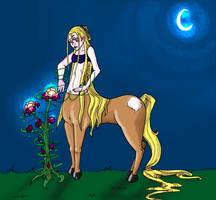 centaure-shaman du bois by ruennadreamer