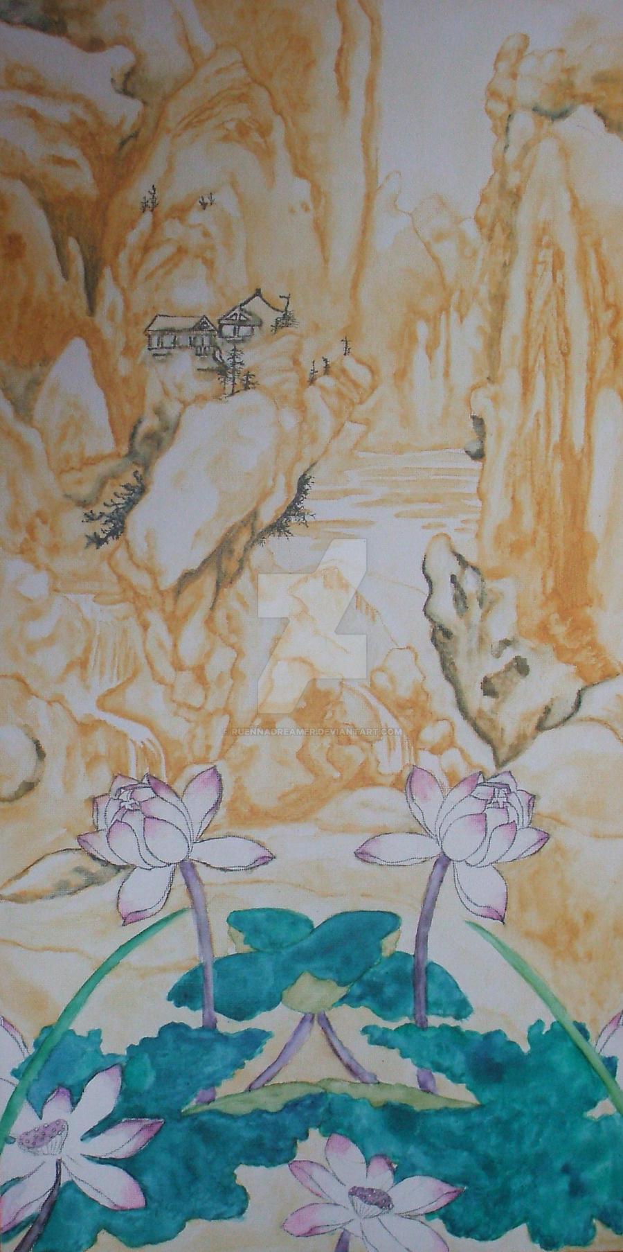 lotus blossom by ruennadreamer