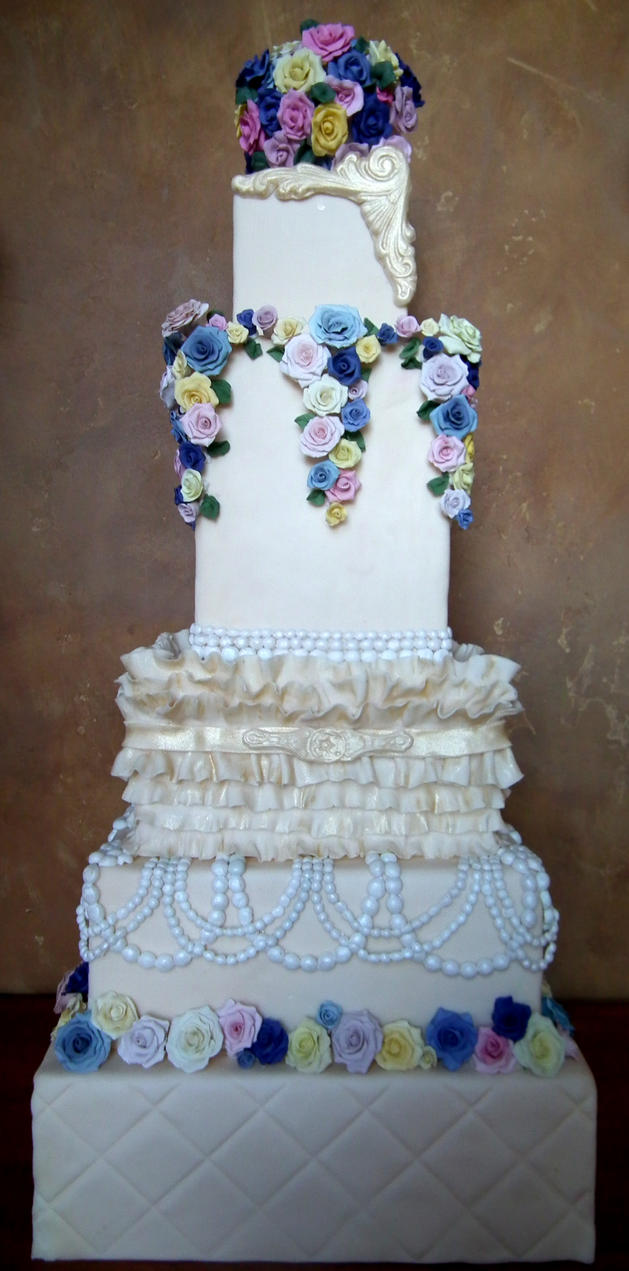 Cake Art Affair Nairobi : Vintage romance cake by kreativekortney on DeviantArt
