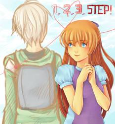 1, 2, 3 STEP - Chloe and Liam by NicoltJ