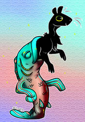 Art Fight   Fishbitch by DawnyBear666
