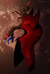 Art Fight   Loosejaw by DawnyBear666