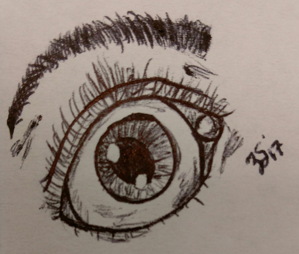 Practicing Eye by PartTimeDoodler
