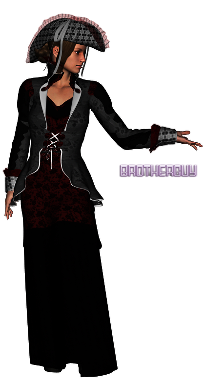 Lady In Black by brotherguy by BrotherGuy