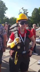 Engineer cosplay
