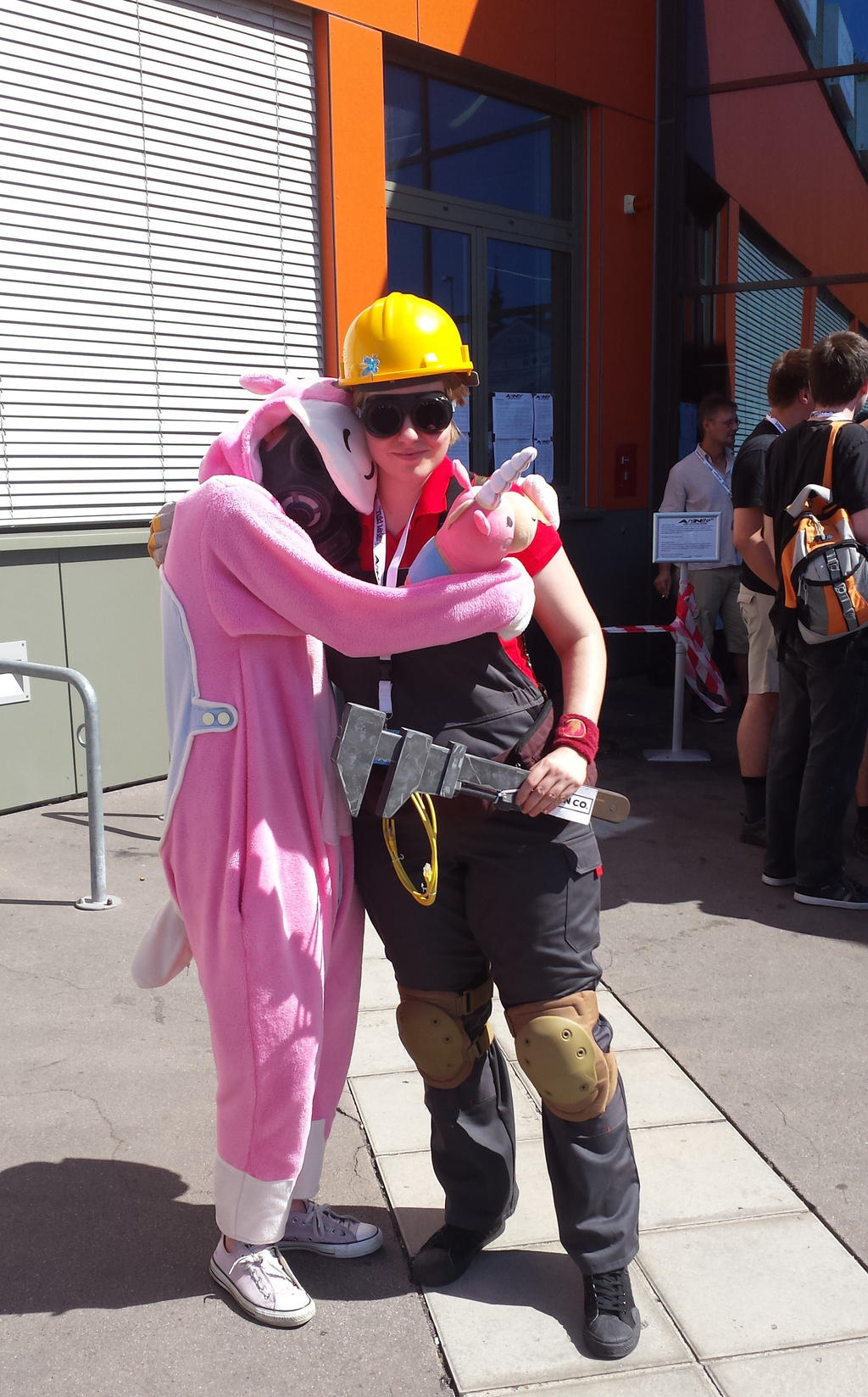 Pyro Tf2 Cosplay Cuddly Balloonicorn Py...
