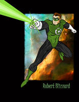 The Green Lantern by RobBlizzard