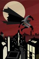 Batman by RobBlizzard