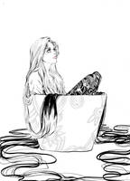 Manga girl by Saina6