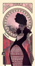The Purple Witch by Saina6